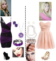 """Amanda and Samantha"" by lolataelizabethtaylor ❤ liked on Polyvore"