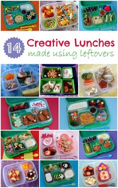 14 Creative Lunchbox ideas to use up your leftovers!