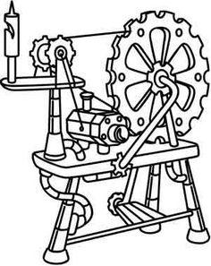 Steampunk Spinning Wheel_image