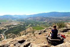 All the top things to do in the Okanagan Valley, British Columbia, as shared by a Penticton local with accommodation guide and map included British Columbia, Columbia Travel, Valley Road, Visit Canada, Canada Travel, Cool Places To Visit, Road Trip, Hiking