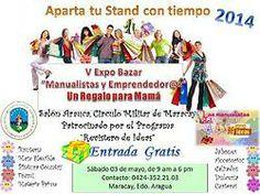 """V Edición Expo Bazar """"Manualistas y Emprendedoras"""" Maracay, Edo. Aragua - Venezuela"""