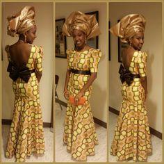 AfricaFashionLongDress