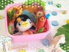 Penguin on Float bento