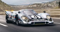 The Road Is The Last Place You'd Expect To See A Porsche 917 #news #Classics