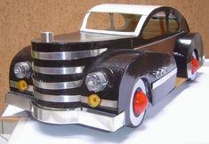 Artesanato - réplica de carro