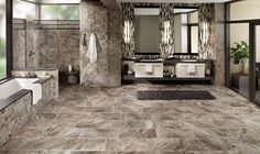 call iStone floors for a free in home estimate and measurement 469-600-0331 or visit http://www.istonefloors.com   Design Gallery - Bathroom | Marazzi USA