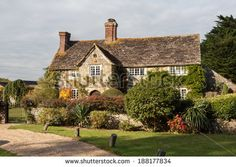 Georgian House With Gate And Trees Stock Photos, Images, & Pictures   Shutterstock