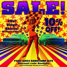 New Fort Knox Five Vinyl, CDs & Merch - w/ Holiday Sale!!!