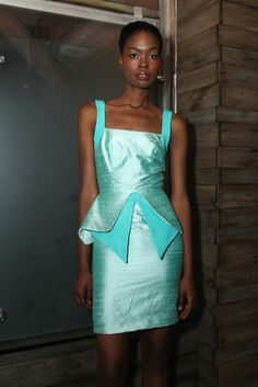 Washington Roberts RTW Spring 2013 .. Uh, love this dress. #fashion