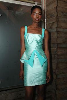 Washington Roberts RTW Spring 2013 .. Uh, love this dress. #fashion