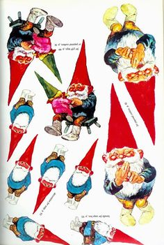 The Gnomes Book of Christmas Crafts (  a Free Printable!)