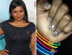 Nail Art -- Celebrity TwitPics | TooFab Photo Gallery