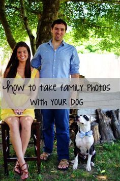 6 tips for how to take great family photos with a dog!