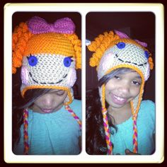 Lalaloopsy crochet Hat.