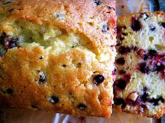Huckleberry Cream Cheese Bread. This turned out so moist and yummy! definitely making this one again!
