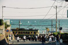 """shonan-train: """"ヨットが素敵なアクセントになってくれました。 """""""