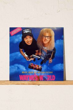 Various Artists - Music From The Motion Picture Wayne's World LP | $29.98 Urban Outfitters