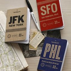 City Notebook Pack by Pilot and Captain in Super Cool Gadgets