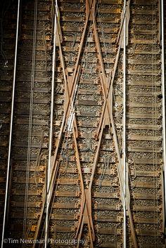 Train tracks - pattern