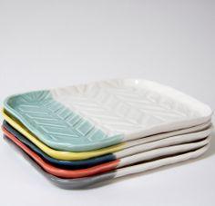 Herringbone Tray by Heather Dahl