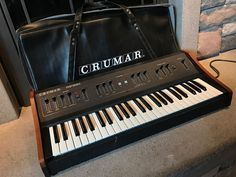 MATRIXSYNTH: Crumar Performer Synthesizer SN 00670