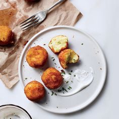 We thought mashed potatoes' stock plummeted on Day 2—until we had these croquettes. Crispy yet creamy, potatoes might be better the second time around.