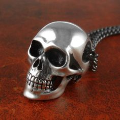 Hey, I found this really awesome Etsy listing at https://www.etsy.com/ca/listing/84888285/skull-necklace-antique-silver-anatomical