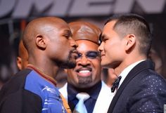 Mayweather vs. Maidana Final Press Conference and Face Off | PHOTOS and VIDEO