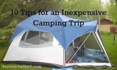 Tips for an Inexpensive Camping Trip