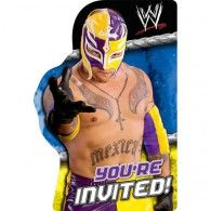 When it's a time for your wrestling fan's main event, choose WWE Invitations. The invitations feature a masked wrestler and the message You're Invited! Each pack of WWE Invitations has 8 invitations and envelopes. Dinosaur Birthday Invitations, Birthday Invitation Templates, Invitation Cards, Invites, Wwe Party Supplies, Wholesale Party Supplies, Wwe Birthday, Birthday Parties, Wrestling Party
