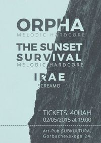 2.05.15: Orpha & The Sunset Survival @Subkultura
