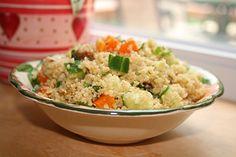Moroccan couscous salad   got no milk