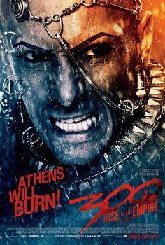 300 - LA NAISSANCE D'UN EMPIRE : Affiche Comic-Con de Xerxes. Sortie 05.03.2014 #LBDC
