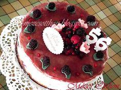 erdei gyümölcsös joghurttorta születésnapra fotó