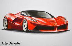 Cómo dibujar un Ferrari con colores  #arte #dibujo #ArteDivierte #carros #ferrari #artistleonardo #LeonardoPereznieto #tutorial Haz clíck aquí para ver mi libro: http://www.artistleonardo.com/#!ebooks/cwpc
