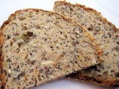 Seedy Spelt No Knead Bread