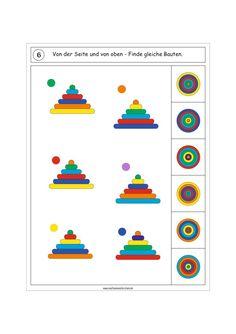 Actividades para trabajar la atención, orientación espacial y la percepción visual -Orientacion Andujar