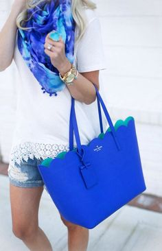I just love this color combo. The scarf is amazing except I'm not a fan of the…
