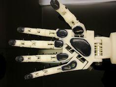 InMoov - the 3D Printable Arduino Based Robot Arm