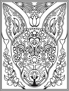 welcome to dover publications midnight forest bird butterfly abstract doodle zentangle paisley