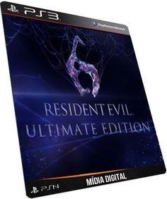 Resident Evil 6 Ultimate Edition Português - GAME DIGITAL PSN PLAYSTATION STORE