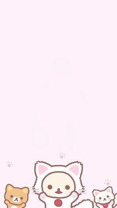 "nozomakis: "" "" korilakkuma + pink wallpapers/lockscreens "" """