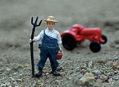 Free fotobanka : práce, muž, pracovní, osoba, lidé, traktor, hospodařit, mužský, venkovský, zemědělství, hračka, zemědělec, pracovník, akční figurka, farmář, pěchota, montérky, vidle 4000x2946 -  - 1171916 - Fotobanka zdarma - PxHere