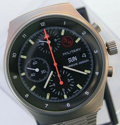 For sale a very rare Orfina Porsche Design 3H US AIR FORCE ...
