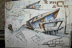 New design portfolio architecture landscapes ideas Sketchbook Architecture, Architecture Board, Concept Architecture, School Architecture, Landscape Architecture, Interior Architecture, Amazing Architecture, Portfolio D'architecture, Architecture Presentation Board