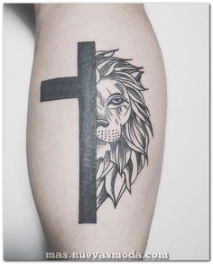 Get Christian friendly ink jobs done on you and showcase Christian tattoo ideas. Cross Tattoo For Men, Cross Tattoo Designs, Tattoo Designs Men, Hair Tattoos, Tatoos, Tattoos For Guys, Cool Tattoos, Awesome Tattoos, Thigh Tat