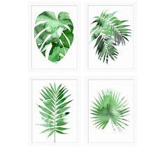 Palm Impression Framed Print
