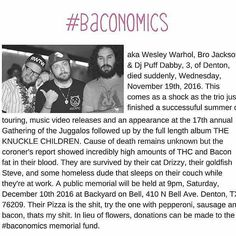 Dec 10th marks the end of #baconomics make sure you are at the backyard on bell #hiphop #denton #dentonmusic #dallasobserver #backyardonbell #bacon #rip #policebrutality #fuckthepolice #knuckle #children #freemusic #supportlocalmusic #dentonhiphop #dentonslacker #dentontexas #dentontx #unt #twu #lild #doingitdenton #dentonproud #backyardonbell