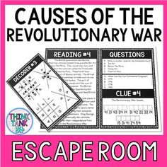 Growth Mindset Escape Room Activity- Back to School by Think Tank Too Middle School Activities, Classroom Activities, Reading Levels, Reading Skills, Reading Passages, Reading Comprehension, Introduction Activities, Early Finishers Activities, Social Studies Activities