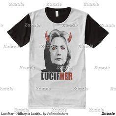 Lucifher - Hillary is Lucifer - Anti-Hillary -